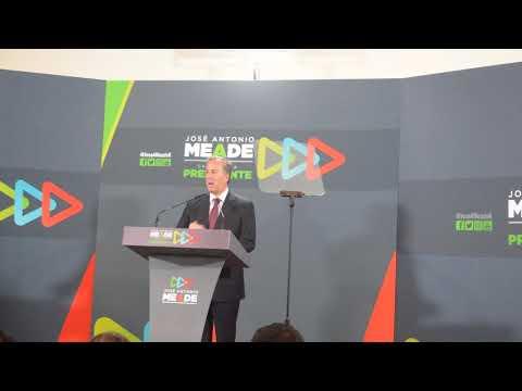 En tres minutos Meade asegura que fortalecerá programa