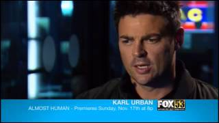 Karl Urban talks Almost Human