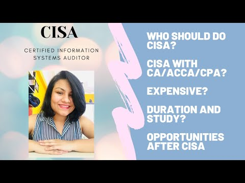 CISA   Certified Information Systems Auditor   Highest-paying Information Systems Degree