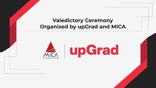 MICA & upGrad Valedictory Ceremony 2021