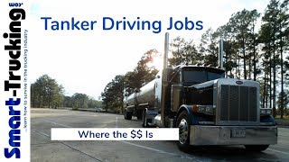Everything You Need to Know About Tanker Truck Driving Jobs
