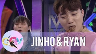 JinHo and Ryan accept Vice Ganda's street food challenge | GGV