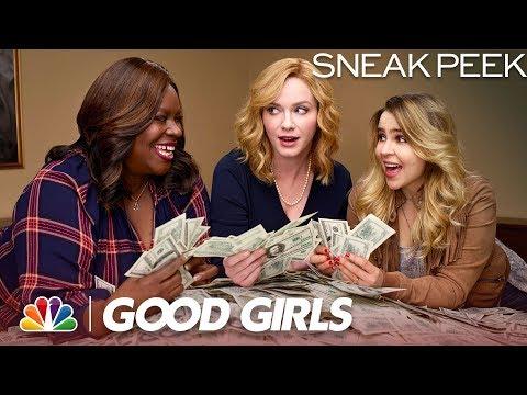 Video trailer för Good Girls - Sit Down with Good Girls (Sneak Peek)