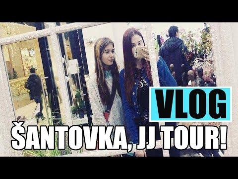 Vlog/SESTŘIH-Šantovka,JJ TOUR w/Sofča