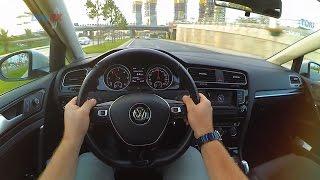 Volkswagen Golf 1.6 TDI 105 HP DSG //POV Test Drive