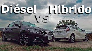 Diésel VS Hibrido - Frente a Frente   Autocosmos