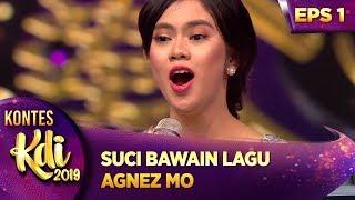 BASIC VOKALNYA ADUUUUHHAI!! SUCI BAWAIN LAGU AGNEZ MO - KONTES KDI EPS 1 (22/7)