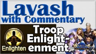 ➜ Wartune GUIDE Troop Enlightenment HOW TO and explanations