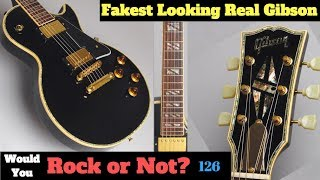 The Fakest Looking Real Gibson   1999 Les Paul Custom Standard Special Order   WYRON 126