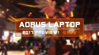 [Expo] Preview of AORUS@Paris Games Week 2017