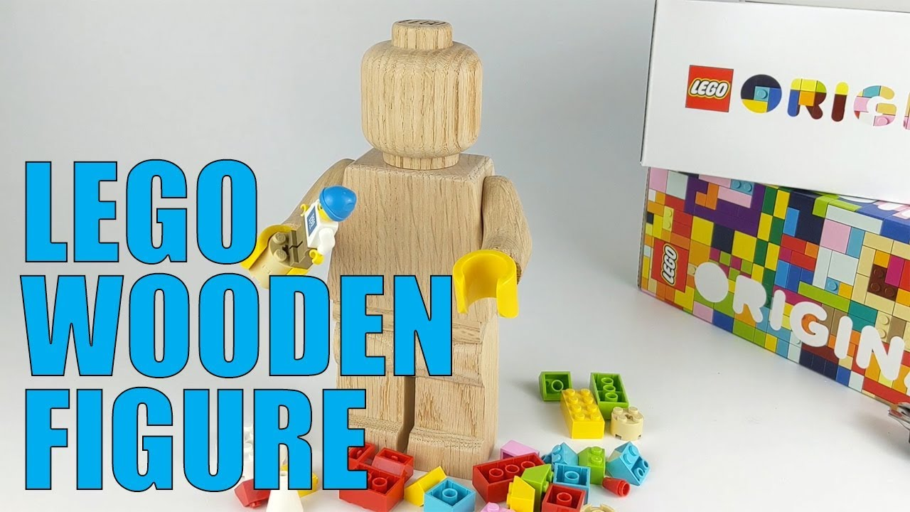 LEGO 853967 Wooden Minifigure: Unboxing and in Action!