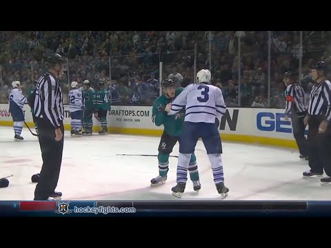 Tommy Wingels vs. Dion Phaneuf