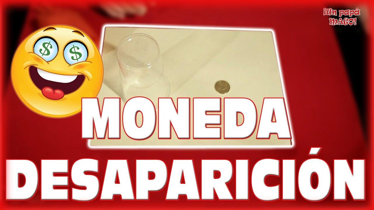 DESAPARICIÓN de una MONEDA | BRICOMAGIA | APRENDE MAGIA | Is Family Friendly