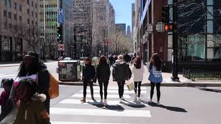 Walking Tour CHICAGO (The Magnificent Mile)