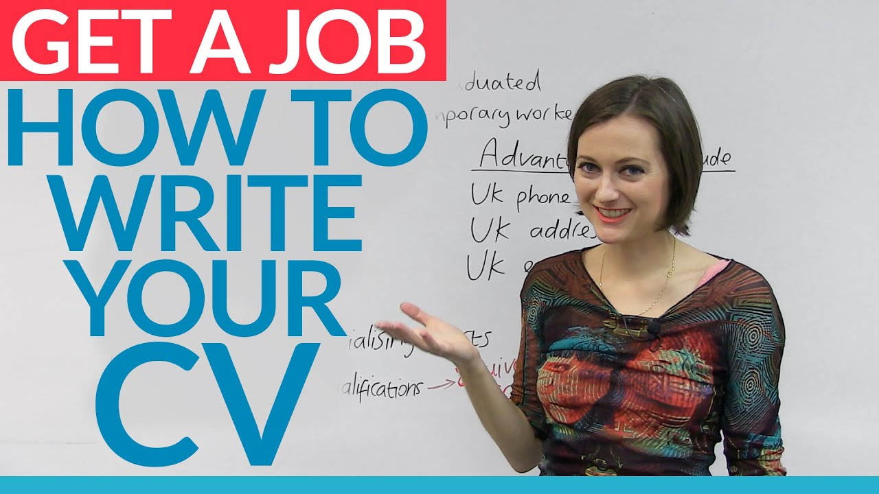 Job Skills Prepare Your English Cv For A Job In The Uk Engvid