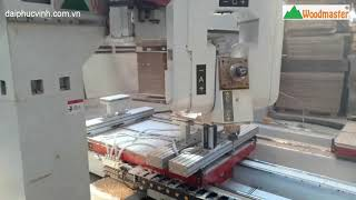 MÁY CNC 3D 5 AXIS PRO - MASTER T4 GIA CÔNG VAI GHẾ
