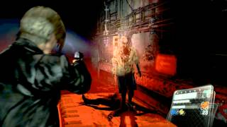 Resident Evil 6 Walkthrough (Leon Campaign) Pt.3 -  I HATE SEWERS!