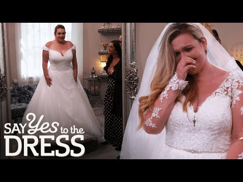 Self-Conscious Bride Want A Dress That Covers Her Shoulders | Say Yes To The Dress Lancashire