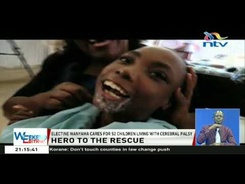 True Shujaa: Electine Wanyama cares for 52 children living with cerebral palsy