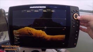 Humminbird helix 12 si chirp