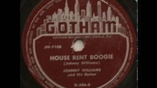 Johnny Williams (John Lee Hooker)   House Rent Boogie