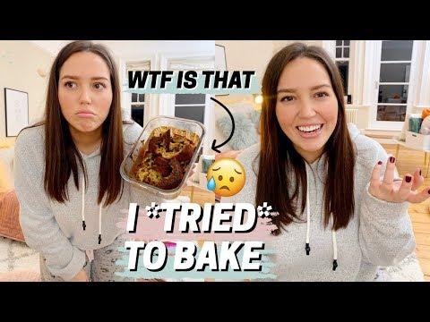 i *tried* to bake banana bread   fail
