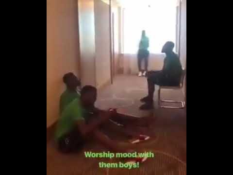 Super Eagles turn prayer warriors