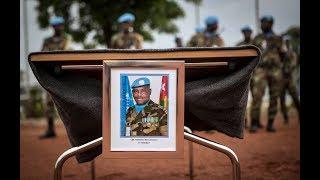 Cérémonie d'adieu au Capitaine Massamaesso Tangaou du contigent Togolais de la MINUSMA | Kholo.pk