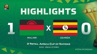 Qualif. CAN 2021   Groupe B : Malawi 1-0 Ouganda