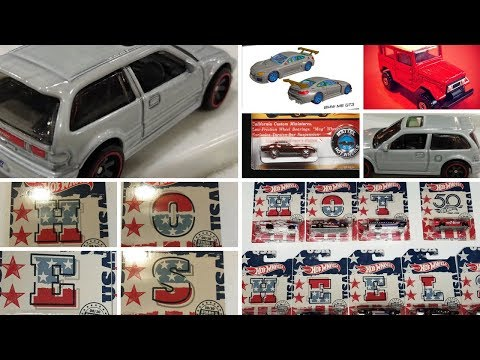 Hot Wheels 2018 Walmart Stars & Stripes And Other Upcoming Diecast Releases
