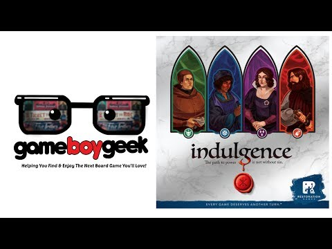 The Game Boy Geek Reviews Indulgence