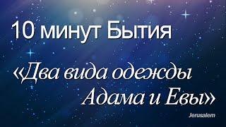 """10 минут Бытия - 017(Бытие 3:7, 21) / """"Два вида одежды Адама и Евы"""""""