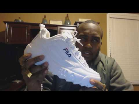 First Review!!!/ Fila Disruptor 2