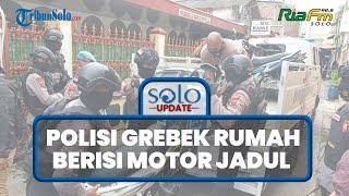 SOLO UPDATE: Polresta Solo Sita Puluhan Motor Langka di Laweyan, Ada Yamaha RX-Z hingga RG-R