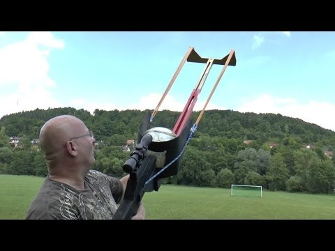 How To Make Soccer Popular In America: Play It With Giant Slingshots