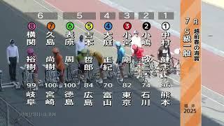 2番小嶋敬二の豪快な捲り福井競輪場