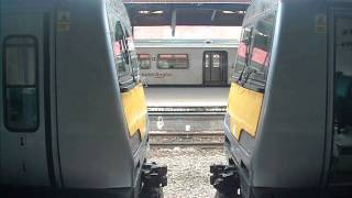 Class 321s couple up at Southend Victoria