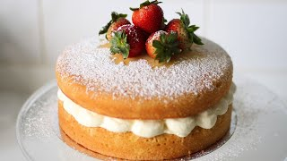basic cake with plain flour