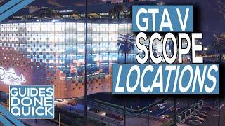 GTA Online Diamond Casino Heist Scope Guide (All Access Points)