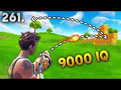 9000 IQ TRICK SHOT.. Fortnite Daily Best Moments Ep.261 (Fortnite Battle Royale Funny Moments)