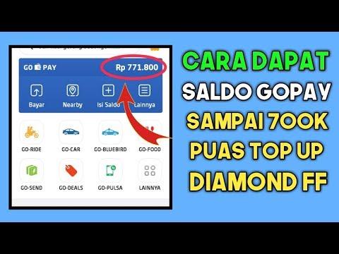 TERBUKTI! CARA MUDAH MENDAPAT SALDO GOPAY 700 RIBU | PUAS TOP UP DIAMOND FREE FIRE (FF)