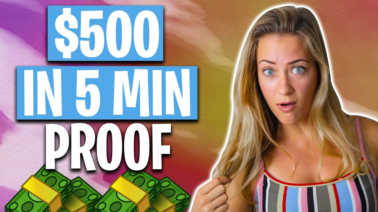 Brand Name New APP THAT PAYS YOU $500 IN 5 MINUTES! No Work Required! thumbnail