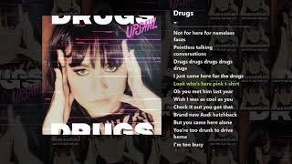 UPSAHL   Drugs (Lyrics)