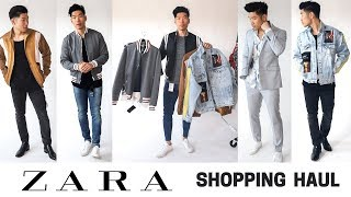 Zara Shopping Haul | Spring 2018 Men's Fashion