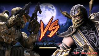 Halo vs Mortal Kombat 2 Avances (INTROS)