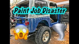 We Ruined The Paint Job!
