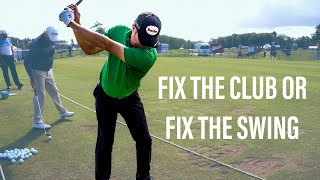 CHANGE YOUR GOLF SWING OR BEND YOUR GOLF CLUBS