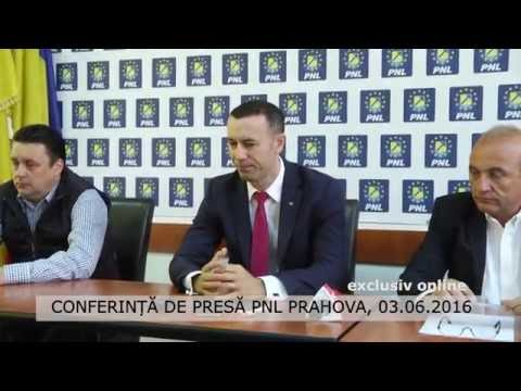 Conferință de presă PNL Prahova, 03.06.2016