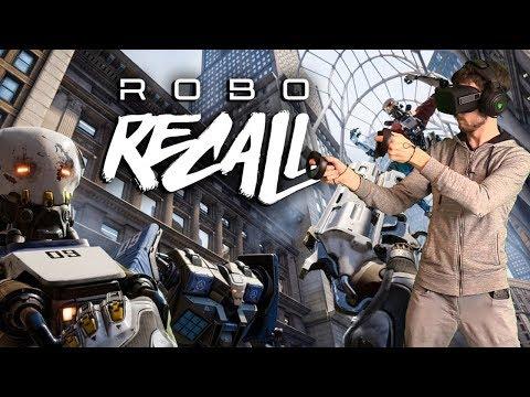 ROBO RECALL - Le Meilleur FPS VR?