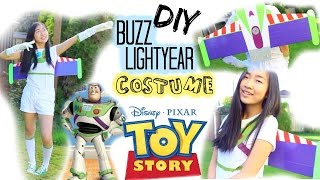DIY: Buzz Lightyear Halloween Costume